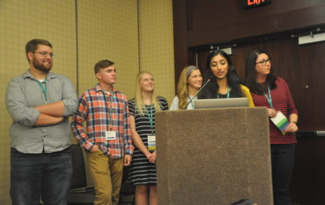 """On the Spot: From students to speakers; """"Pittsburg Six"""" take on Dallas convention as journalism celebrities"""
