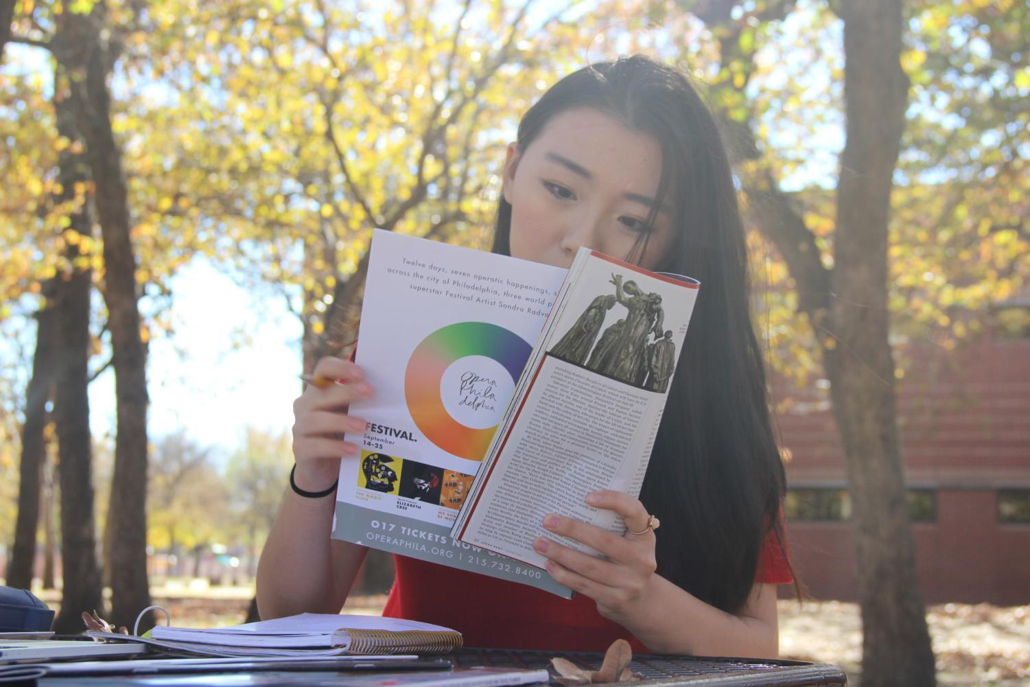 In an effort to focus her various creative passions, Coppell High School junior Kelly Wei founded Portrait Publication, an upcoming fine arts magazine that will feature student talent and submitted work. The first issue is expected to be released in March.