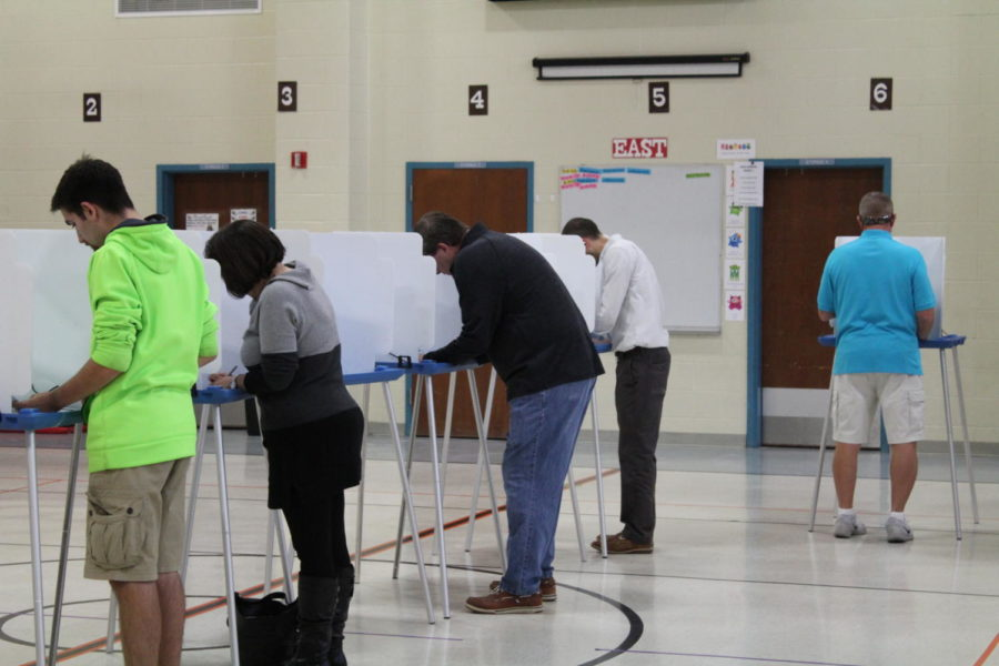 Coppell city residents visit Lakeside Elementary School Tuesday afternoon to vote in a city election for Constitutional amendments. Having such local elections gives citizens the chance to induce a direct impact on our democratic government.