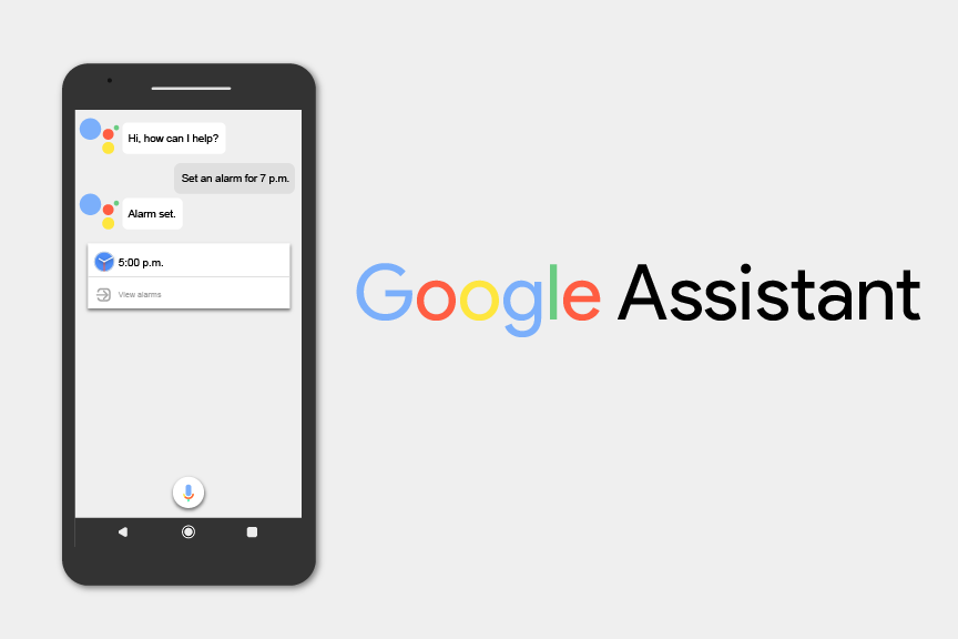 Google Assistant helps with common tasks in day-to-day life. It is available on all digital platforms.