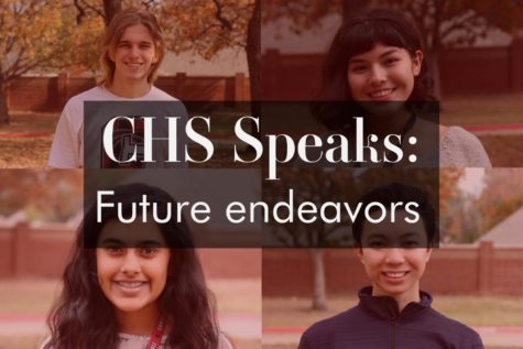 CHS speaks: Ranging from business to medicine, students exploring future endeavors