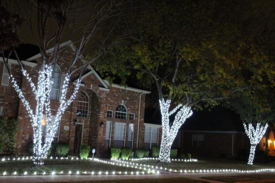 For many people the holiday season is filled with cold weather, snuggly blankets, warm chocolate and the seasonal tradition of bright holiday lights. As Christmas quickly approaches this year, the Coppell community showcases it's festive mood with twinkling lights in front of resident homes.