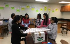 Sophomores kick off first year of Habitat for Humanity Club with supply drive