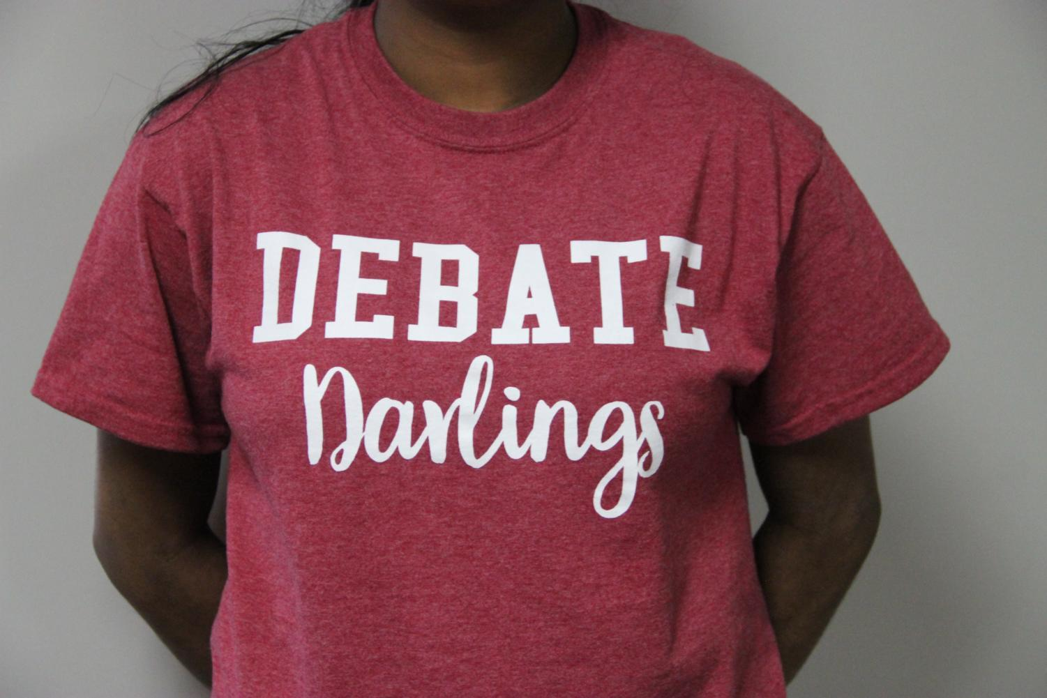 Coppell High School students wear different supporter shirts such as Debate Darlings, Swimming Sweetie, Broadway Babe and Respira Royalty. These supporter shirts raise money  for different organizations and are a CHS tradition that students enjoy wearing.