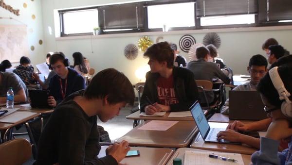 Dixon explains essay based learning method