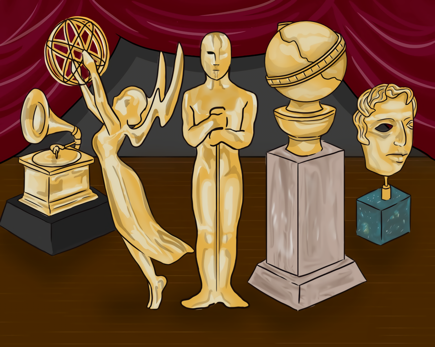 Awards season is now in full swing. With it comes the many different awards which are presented to notable artists.