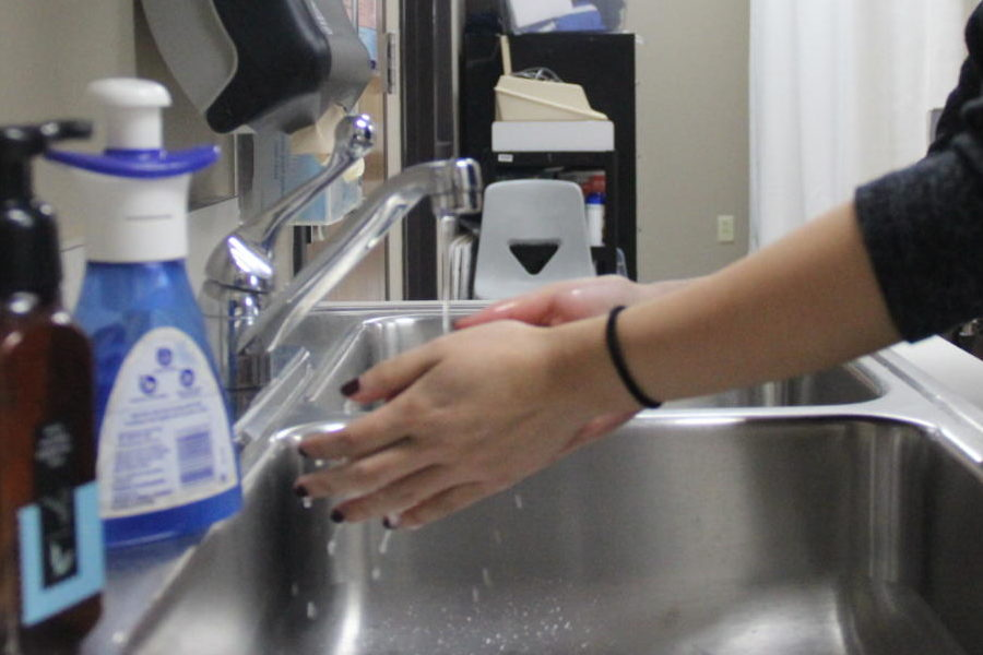 Flu season has affected students of Coppell High School which later leads to failure of exemption. Coppell High School nurse Beth Dorn says that washing your hands regularly is an effective way of preventing getting sick from the flu.