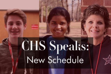 CHS speaks: Students, staff move to a traditional block schedule