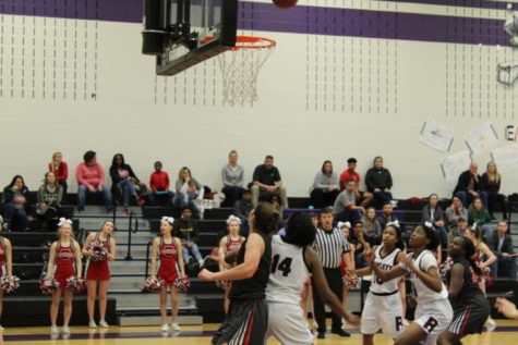 Cowgirls fly behind the Eagles on Tuesday night's 6A girls basketball bi-district loss