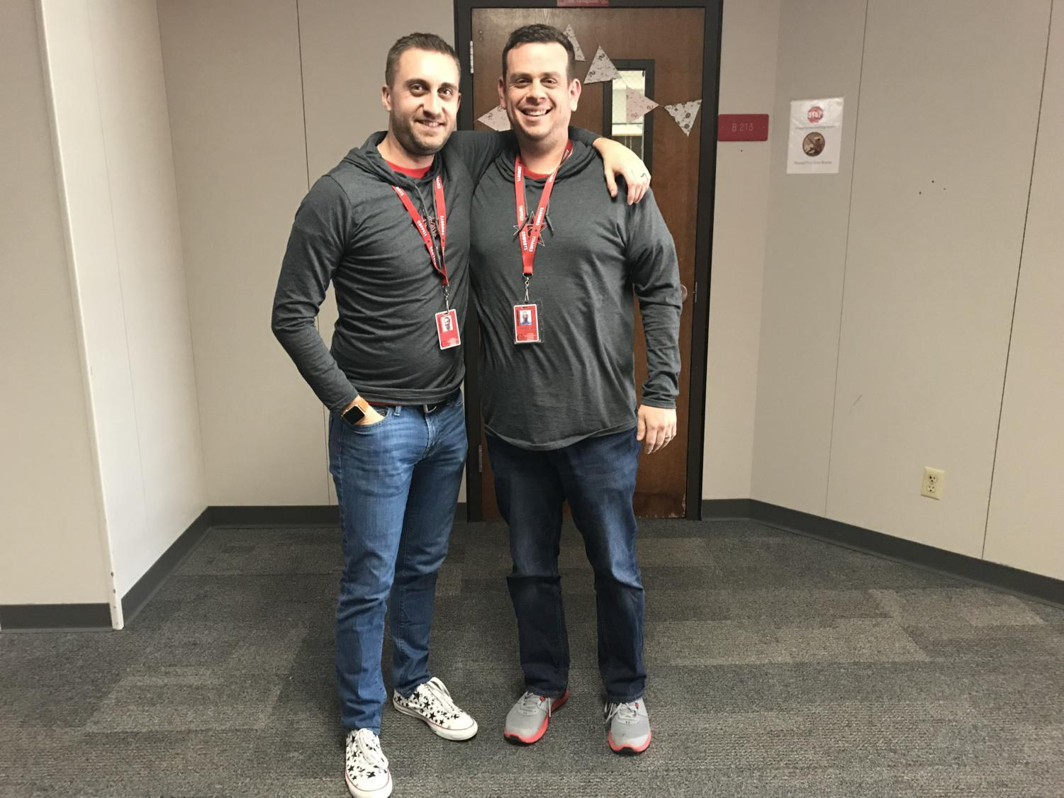 CHS teachers, AP Human Geography teacher Ryan Simpson and AP Human Geography Chris Caussey, are two of the 45 faculty at CHS expected to be at CHS 9. CHS 9 is a new campus of CHS made entirely for incoming freshmen students attending in the 2018-19 school year.