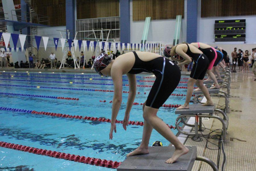 On Friday, Jan. 26, Coppell high school varsity swimmers competed at the districts meet. 24 swimmers have made it to regionals, which is considered a great improvement from last year.