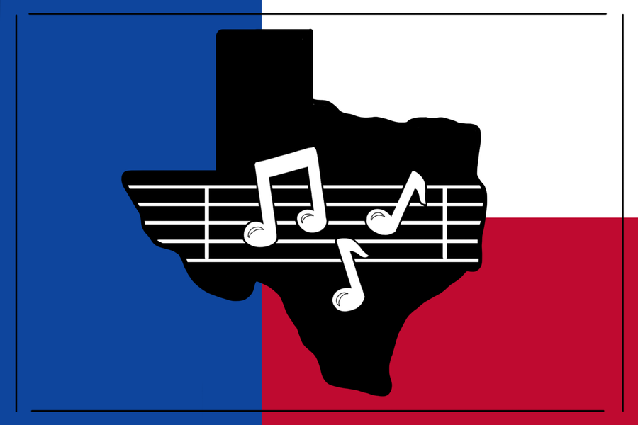 When it comes to music, Texas holds many talented artists with songs that represent the country well. Indoor Creature, She Sir, Pueblo and Kevin Abstract are some examples of gifted Texan artists.