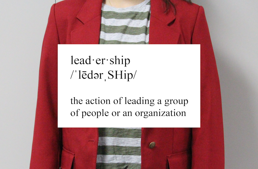 "Many teenage leaders, such as the Coppell High School Red Jackets, are praised for their positions yet many do not display the qualities of a true leader. Because of this, ""leadership"" needs a redefinition. Photo by Karis Thomas, Graphic by Kaylee Aguilar."
