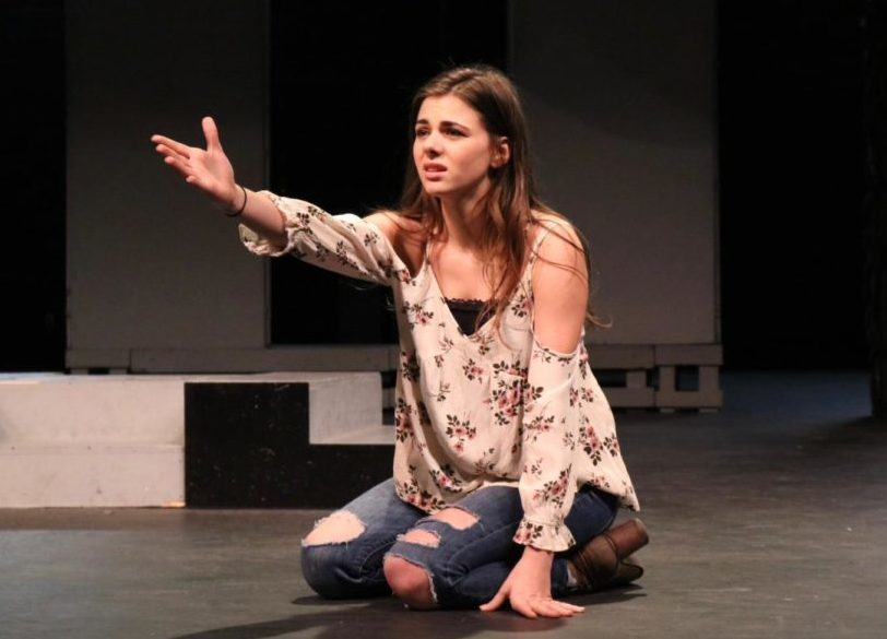 Coppell High School senior Georgia Cole is part of the premiere and fame classes taught by theater teacher Lisa Tabor. Cole has been acting since she was in kindergarten and will be attending OU as a drama student in the fall.