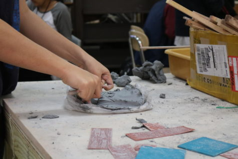Ceramics taking shape for campus artists
