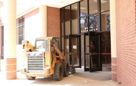 On the Spot: Spring break renovations underway at Coppell High School