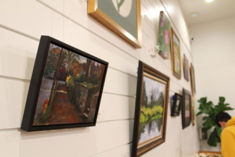"""Shades of Green"" gallery opens on Friday at George Coffee and Provisions shop"