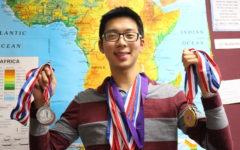 Lin blows through CHS Academic Decathlon record