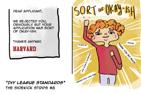"""The Sidekick Strips #8 – """"Ivy League Standards"""""""