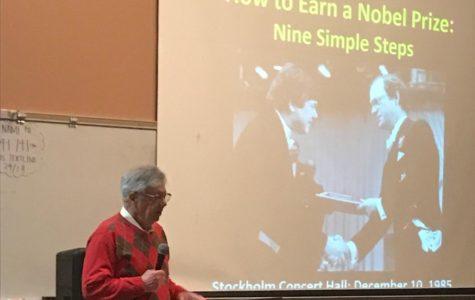 On the Spot: Nobel Prize winner inspires science students