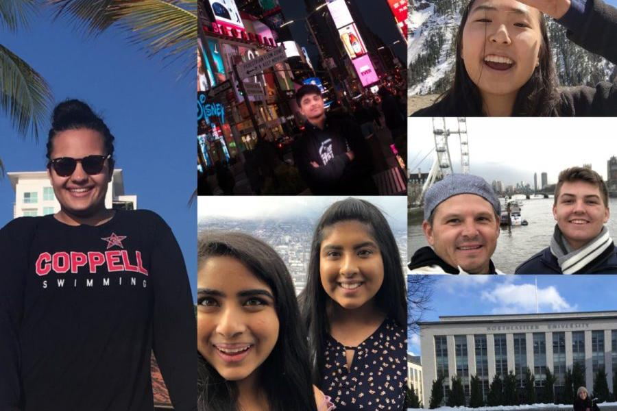 Coppell ISD is on spring break this week. Students from Coppell High School traveled to many places such as Mexico, Chicago and New York City.