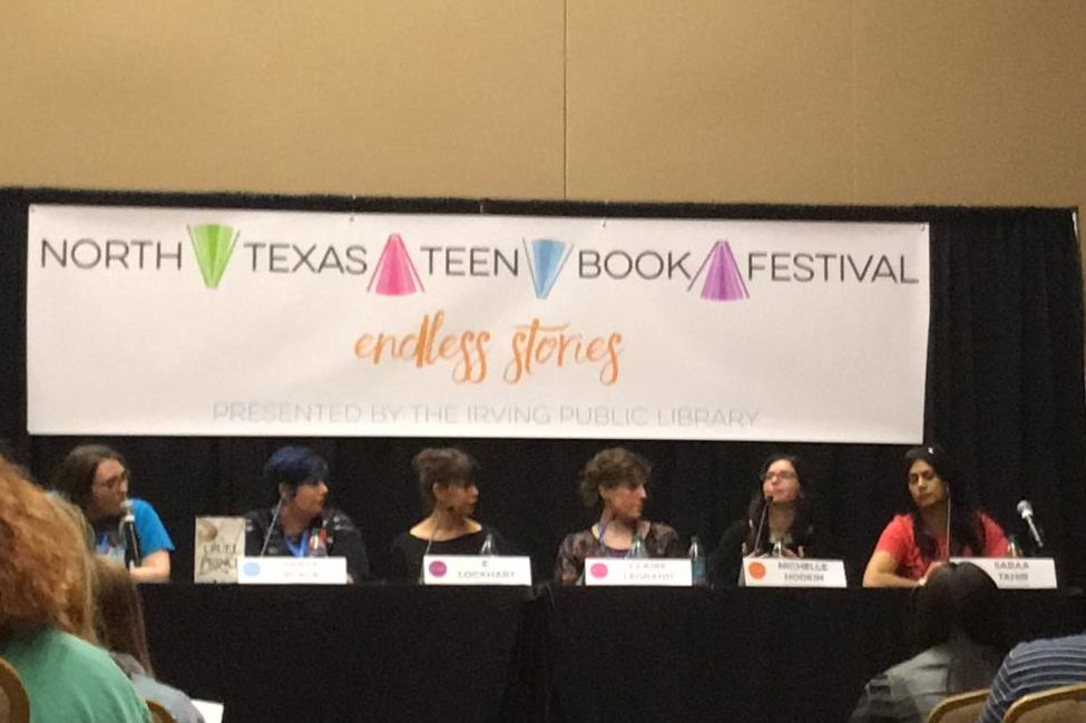 The panel Villains & Vagabonds at the North Texas Teen Book Festival on Saturday at the Irving Convention Center featured authors Holly Black, Michelle Hodkin, Claire Legrand, E. Lockhart and Sabaa Tahir. The featured writers discussed villains' motivations and anti heroes.