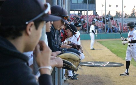 Baseball team triumphs over Skyline in one-hitter, run rule on Senior Night