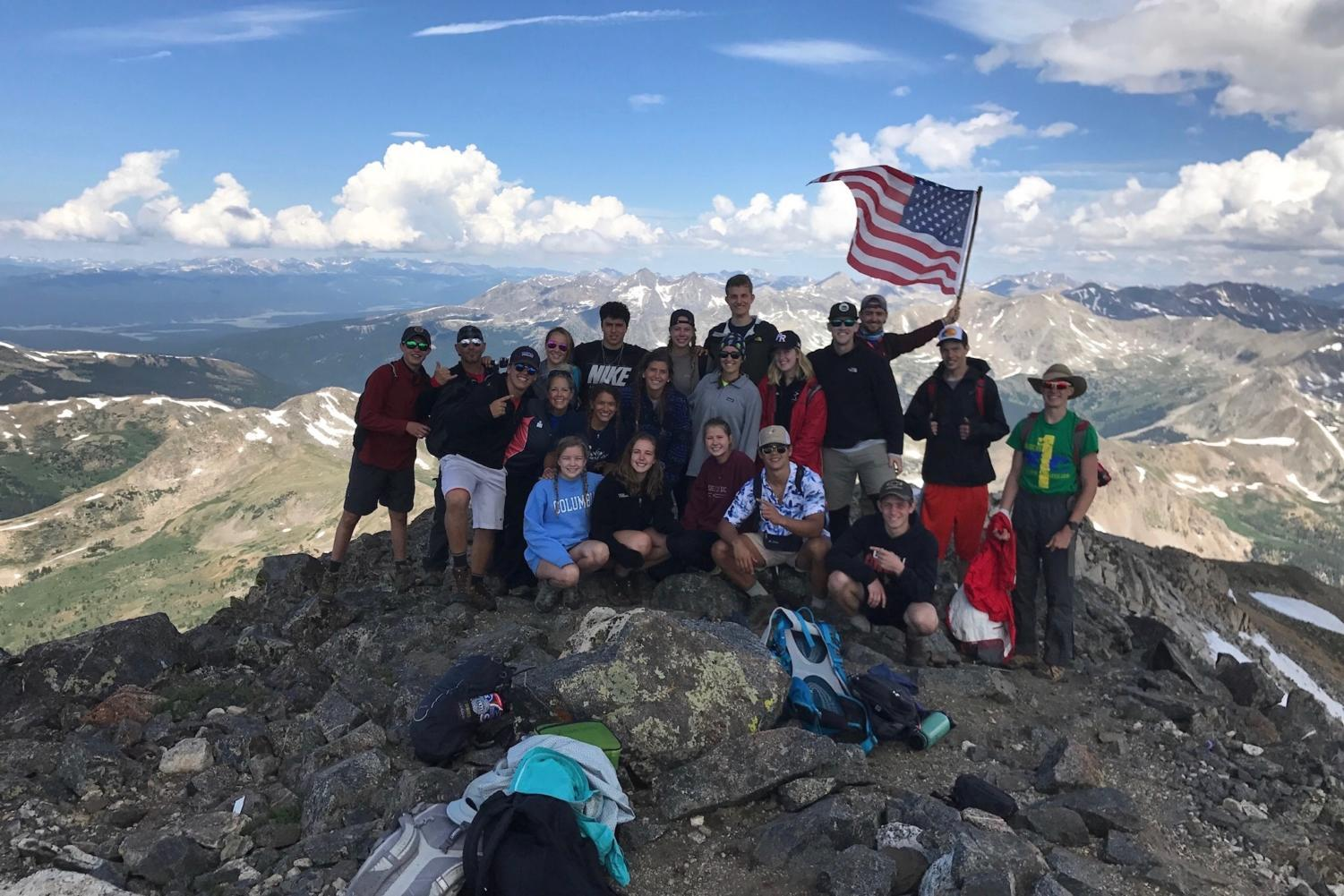 Campers enjoy participating at Camp Pike in Colorado last summer. Camp Pike offers multiple opportunities for student campers, including hiking, backpacking, zip lining and rafting.