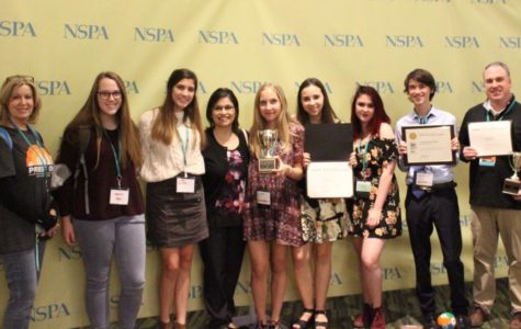 CHS media programs take home top honors at journalism convention