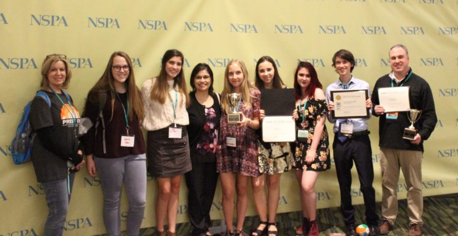 The Sidekick, KCBY-TV and Round-Up went to the JEA/NSPA Spring National High School Journalism Convention in San Francisco. The Sidekick and KCBY-TV each won first place in Best of Show, and Coppell Student Media won its second Online Pacemaker.
