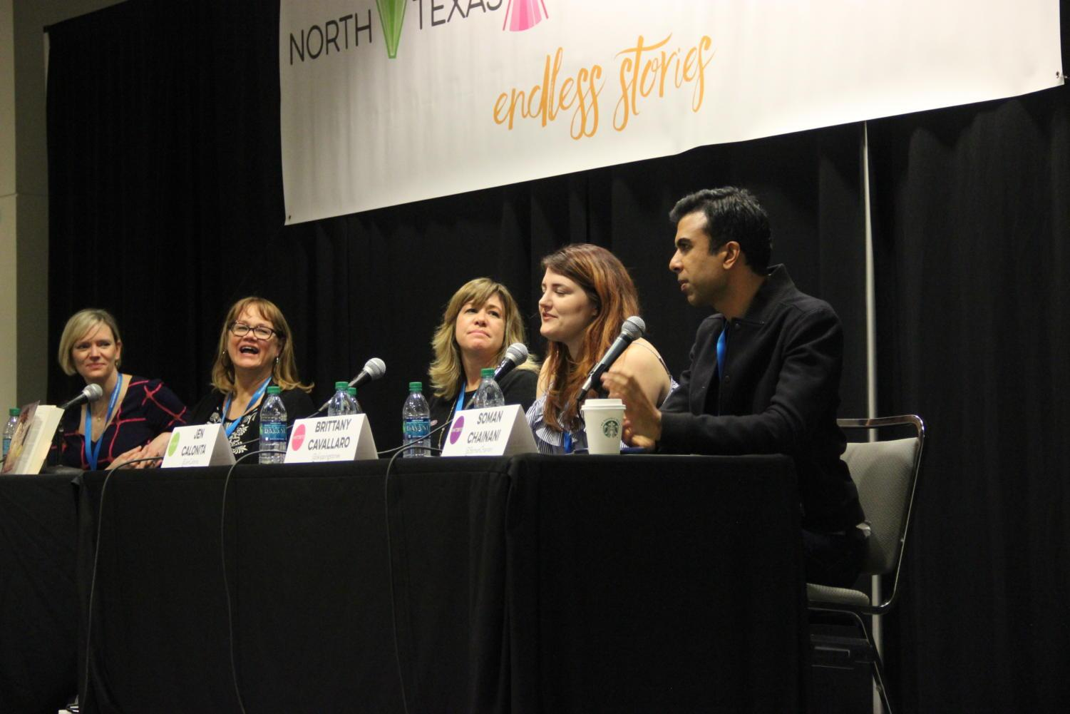 At the 2017 North Texas Teen Book Festival at the Irving Convention Center, New York Times bestselling author Brittany Cavallaro shares her experiences during the School Days, School Daze panel. This year's festival is tomorrow from 8 a.m. - 4 p.m. at the Irving Convention Center.