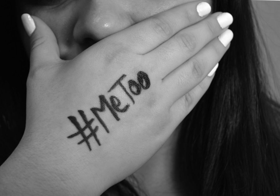 """#MeToo movement encourage both victims and supporters to speak up against sexual violence and harassment against women. """"I support the movement because I wouldn't like any of my friends, myself or my daughter some day to experiment the abuse that many women are victims of now a days"""" CHS senior said."""