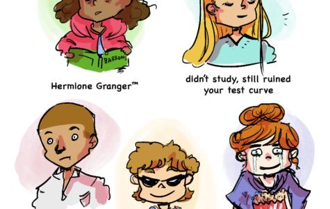"The Sidekick Strips #9 – ""Types of Students During Exam Season"""