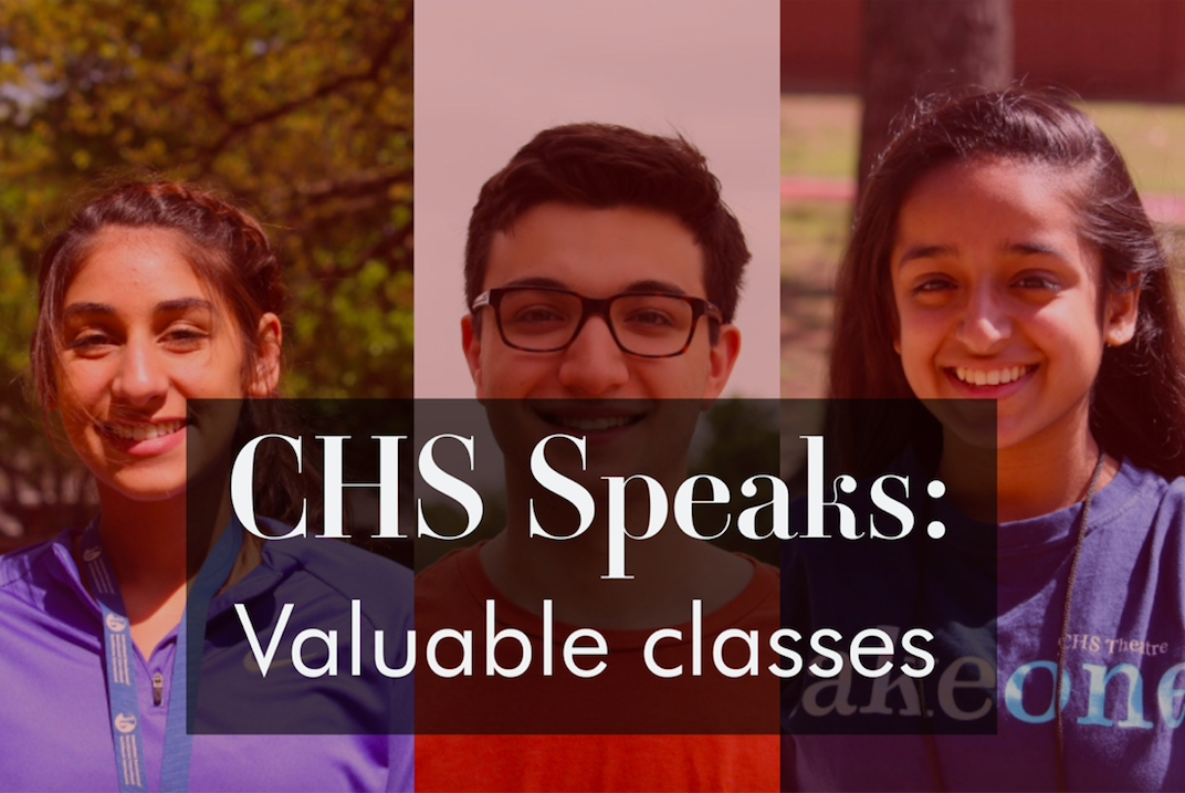 Throughout high school, every student has a favorite class that resonates with them in some way. Coppell High School students share their most beneficial class they have taken or are currently enrolled in.