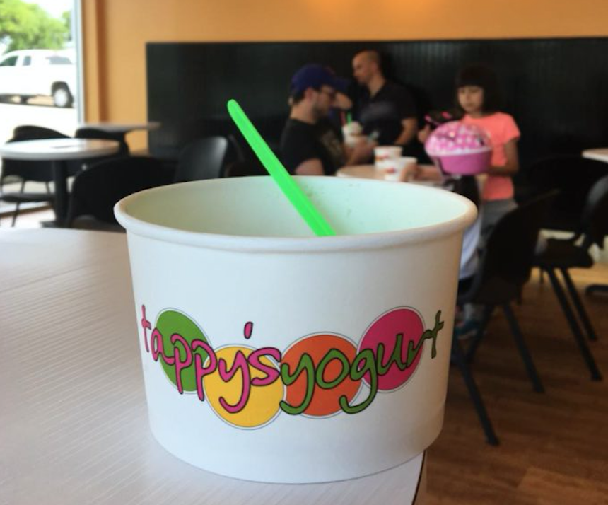 Tappy's Frozen Yogurt Shop is a popular frozen yogurt place for Coppell residents and is located at 2780 MacArthur Boulevard in Lewisville. Best of Coppell is a collection of The Sidekick staff's favorite local food and entertainment restaurants.