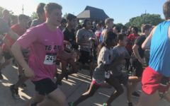 Coppell community gathers in Andy Brown East for annual Red and Black Run to Fund