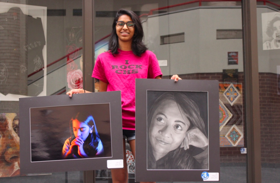 Coppell High School sophomore Falak Shah medaled twice at the State VASE competition held in San Marcos on April 27-28. The State VASE competition was a platform for students to share their personal feelings through art.