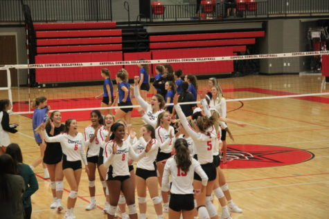 Cowgirls sweep Byron Nelson in three sets