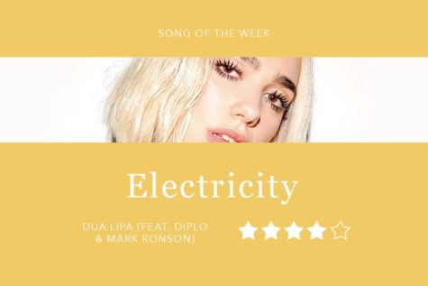 "Song of the Week: ""Electricity"" — Silk City, Dua Lipa"