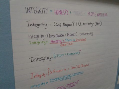 Campus redefines purpose statement through implementing integrity lessons