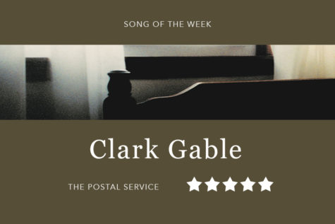 "Song of the Week: ""Clark Gable"" – The Postal Service"