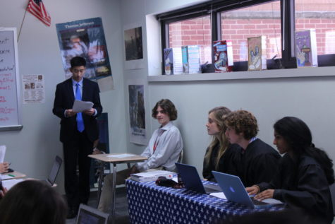 On the Spot: APUSH students reenact Boston Massacre through annual mock trial (with video)