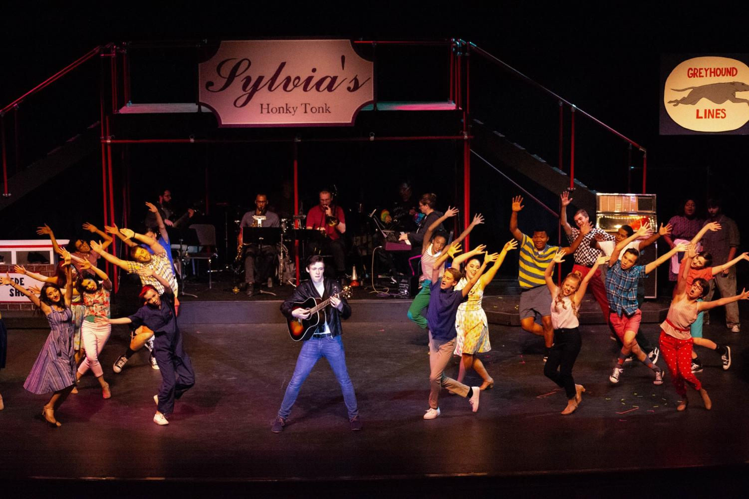 "The Coppell High School theater department performs ""All Shook Up"" on Oct.26 in the Coppell High School auditorium. Guests can attend the musical on Nov 3-4."