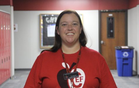 English teacher Tracy Henson