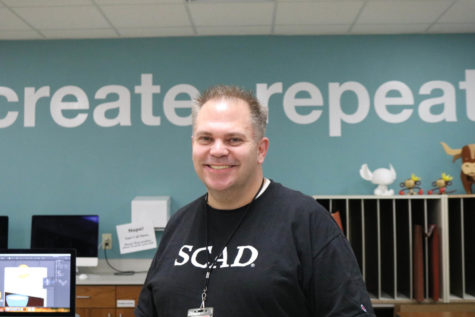 Tiede chosen as November Teacher of the Issue, experience in art, design inspires excitement for future projects