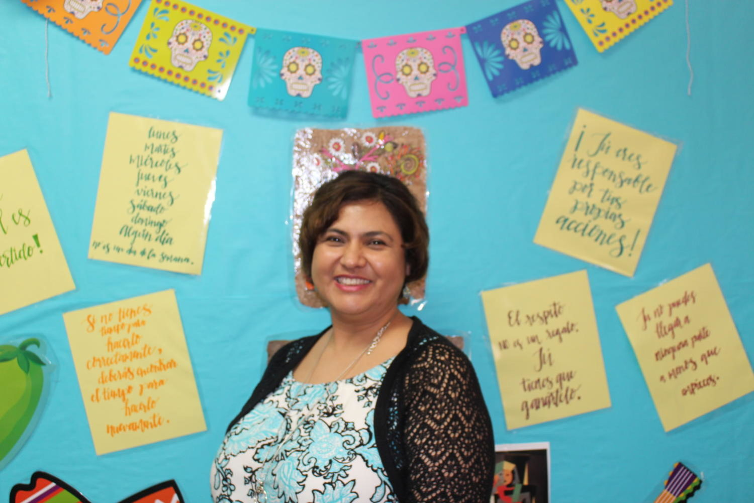 Coppell High School Spanish teacher Linda Grady came to CHS from Trinity High School in Euless. She has enjoyed getting to know the faculty while teaching academically driven students.