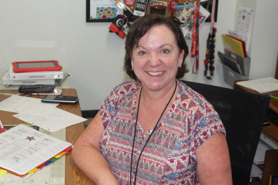 The Sidekick has selected Coppell High School math teacher Michelle Bellish as the October Teacher of the Issue. Bellish is known for helping her students by checking up on them regularly and her honesty.