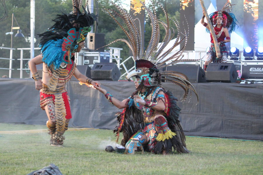 The Mayan group, Pakal, performs the New Fire Ceremony to showcase their culture. The New Fire Ceremony involves elements of Earth such as wind, fire and the sun. On Saturday, the event of Kaleidoscope was held for the second time to promote cultural diversity in Coppell.