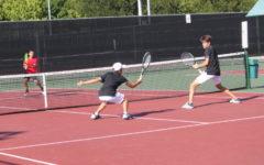 Suzuki crosses world, finds home on CHS tennis team