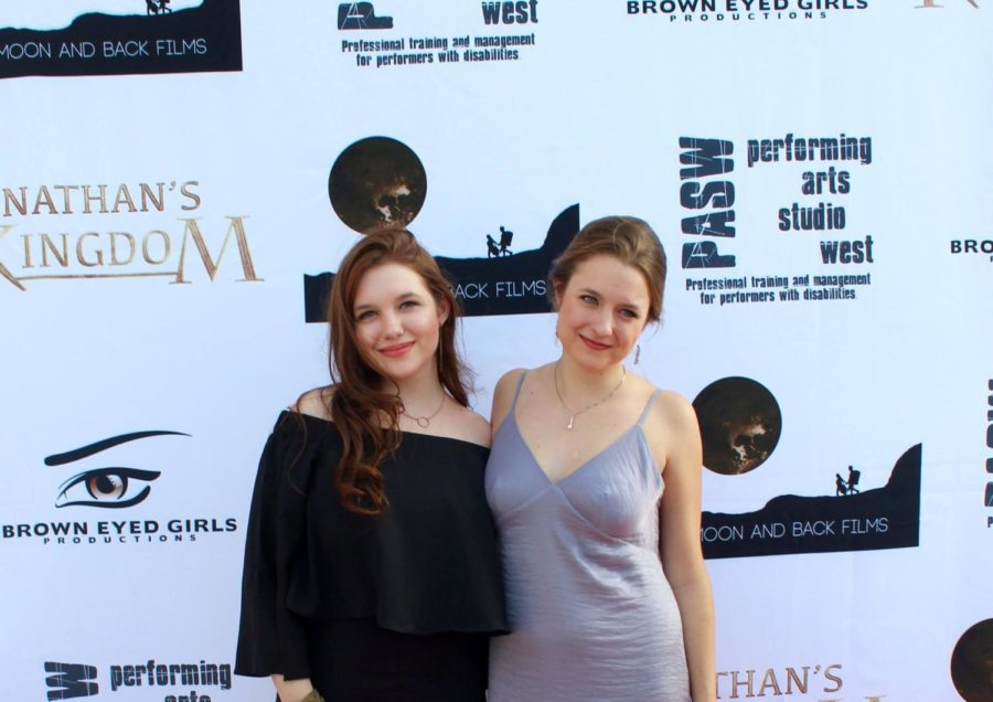 Madison+Ford+%28right%29+and+her+sister%2C+actress+Mia+Ford+stand+at+a+screening+of+Nathan%E2%80%99s+Kingdom.+Madison+is+a+2012+Coppell+High+School+graduate+and+former+entertainment+editor+of+The+Sidekick.+
